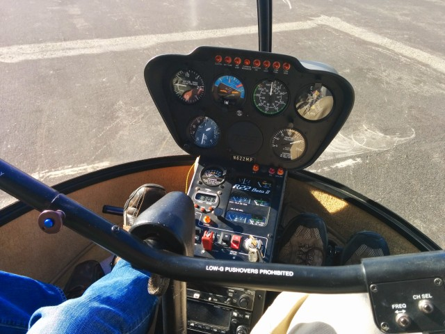 The R22 Instrument Panel